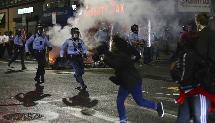 امریکا: سیاہ فام کا قتل، مظاہرے روکنے کیلئے رات کا کرفیو