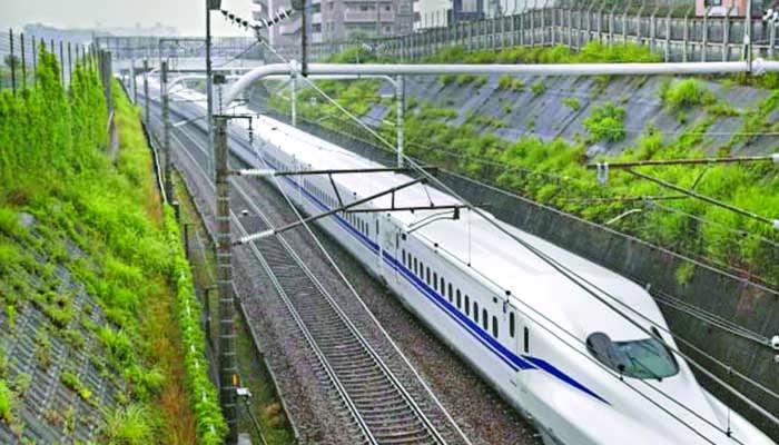 380 کلومیٹر فی گھنٹہ کی رفتار سےچلنےوالی'شنکانسین ٹرین'