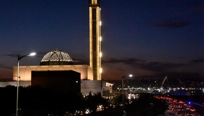 الجزائر میں دنیا کی تیسری بڑی مسجد کا افتتاح