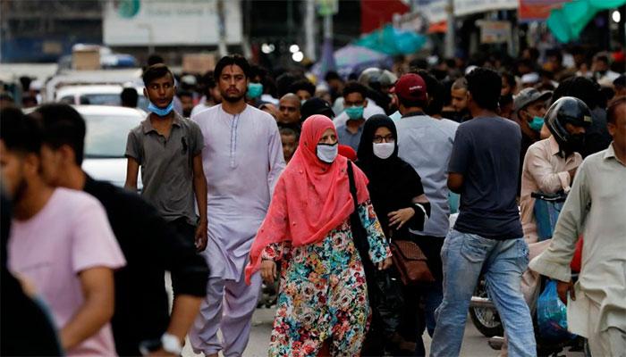 اسلام آباد : ماسک نہ پہننے والوں کے خلاف کریک ڈاؤن کا آغاز