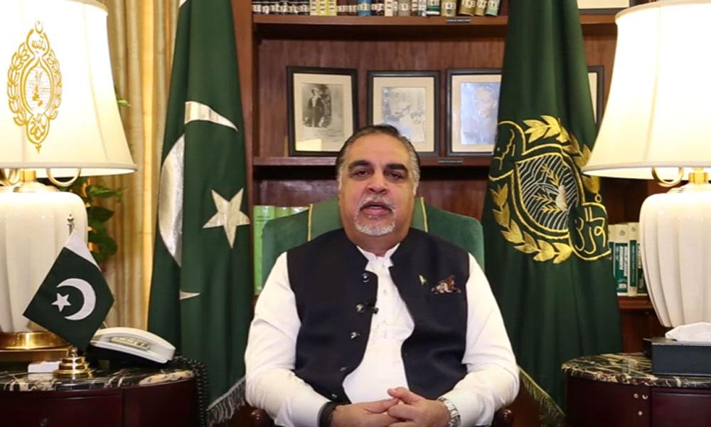 گورنر سندھ کی مرکزِ دعوتِ اسلامی فیضانِ مدینہ آمد