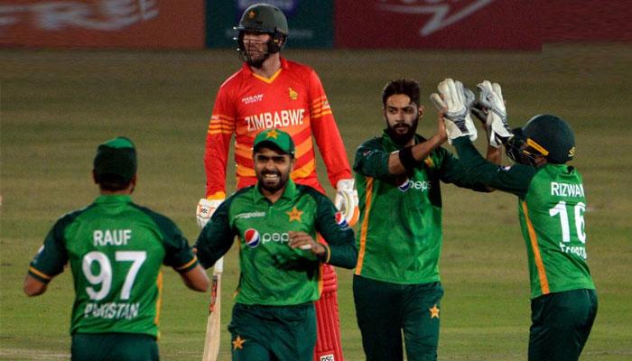 پاکستان نے دلچسپ مقابلے کے بعد زمبابوے کو ہرا دیا