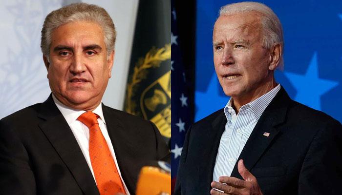 جو بائیڈن مقبوضہ کشمیر کی صورتحال اور افغان چیلنجز سے واقف ہیں، شاہ محمود