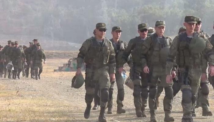 پاکستان  اور روس کی مشترکا فوجی مشق دروزبہ فائیو تربیلا میں جاری، ڈی جی آئی ایس پی آر
