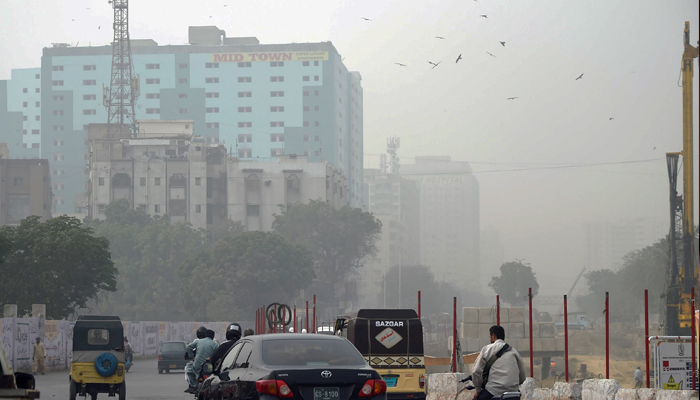 کراچی کا فضائی معیار انتہائی آلودہ ہے، یو ایس  ائیر کوالٹی انڈیکس