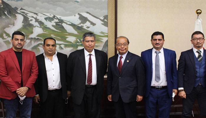 جاپان: سفیر پاکستان کی تویاما کےگورنر سے ملاقات، سیاسی و تجارتی امور پر گفتگو
