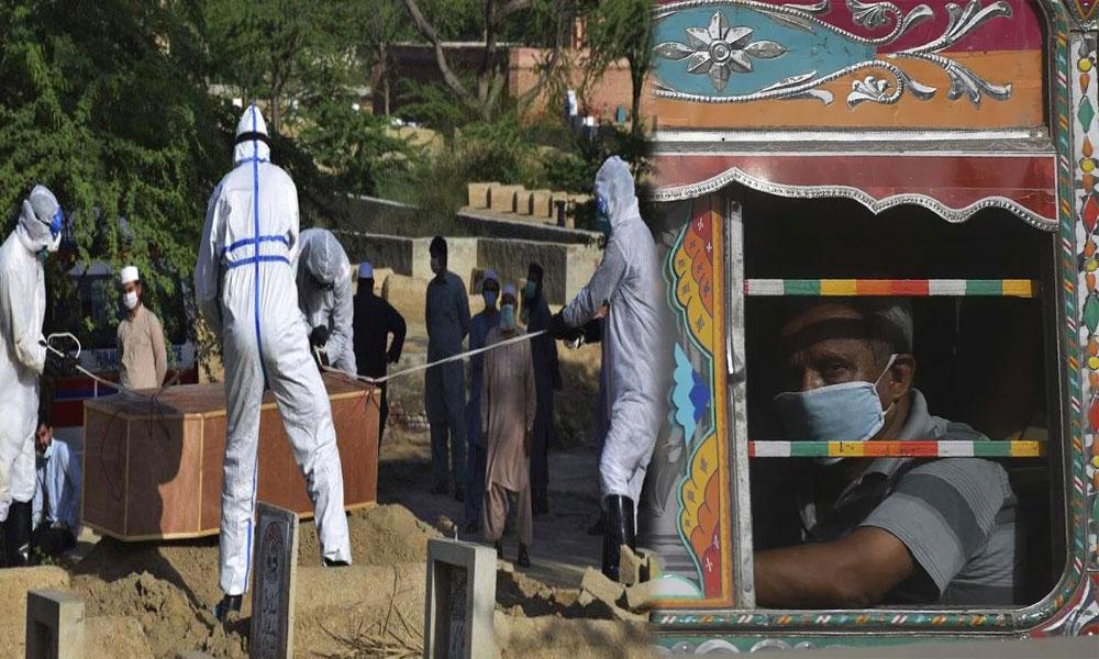 پاکستان: کورونا وائرس کے کیسز 354461، اموات 7109