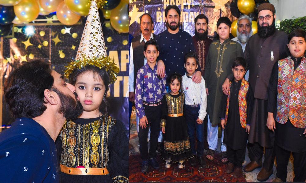 سعید اجمل کی بیٹی کی سالگرہ کی تصاویر وائرل