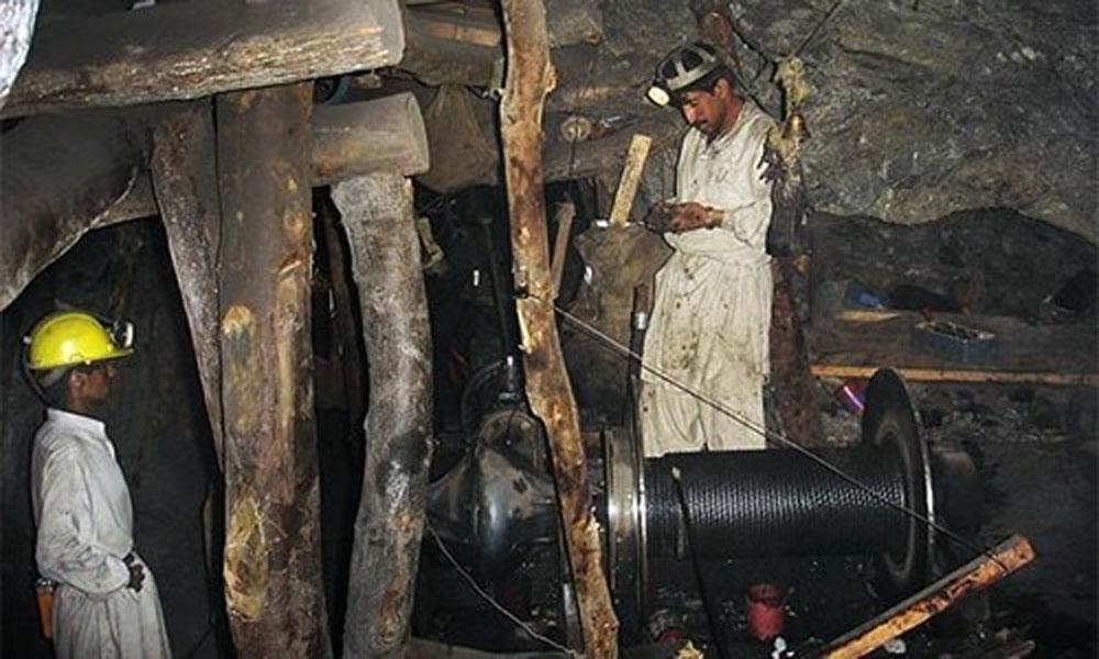 کوئٹہ: کان میں تودہ گر گیا، 2 مزدور پھنس گئے