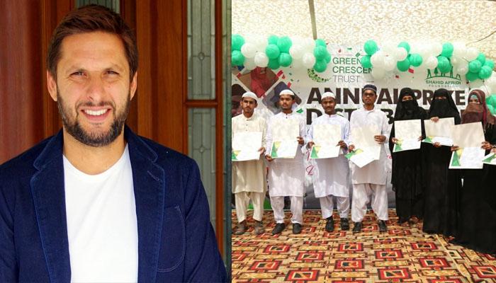 شاہد آفریدی فاؤنڈیشن اسکول میں گریجویشن کی پہلی تقریب