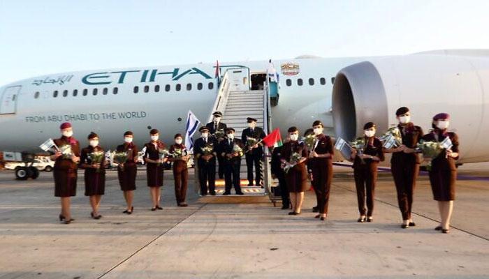 امارات کی اتحاد ایئرلائن 2021 سے تل ابیب کیلئے براہ راست پروازیں شروع کرے گی