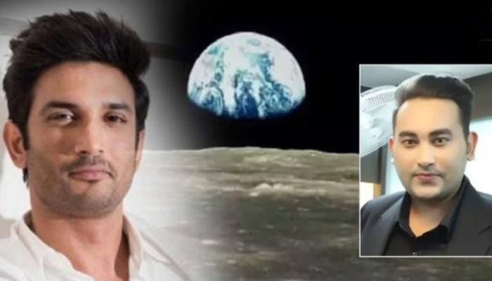 سشانت کے مداح نے چاند پر اراضی خرید لی