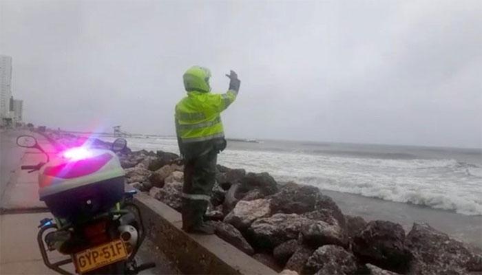 بحیرہ کیریبئن: طاقتور سمندری طوفان آج رات وسطی امریکی ساحلوں سے ٹکرانے کا امکان