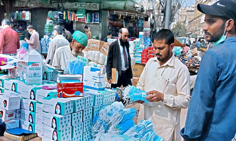 پاکستان: کورونا وائرس کے مزید 2 ہزار 50 کیسز، 33 اموات