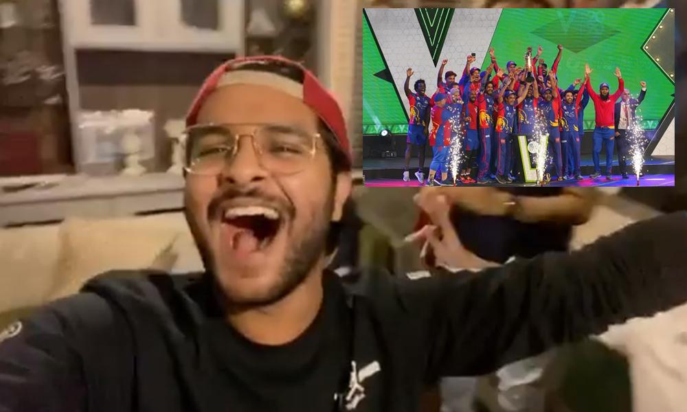 عاصم اظہر کی جشن مناتے ویڈیو وائرل