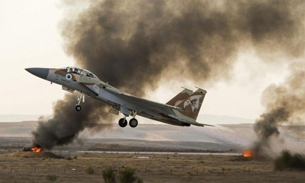 شام میں اسرائیلی فوج کا فضائی حملہ، 3 فوجی جاں بحق