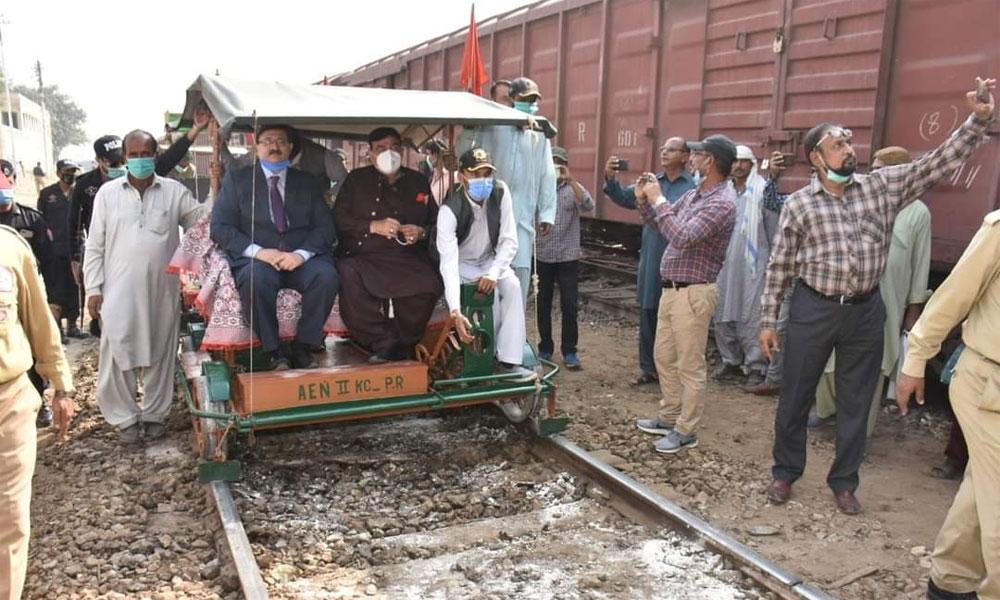 20سال بعد کراچی سرکلر ٹرین جزوی بحال