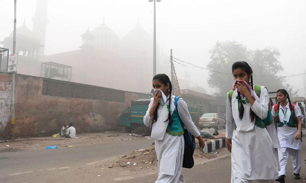 فصلوں کی باقیات جلانے سے دہلی کی فضا دوبارہ آلودہ