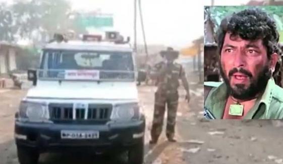 بھارت: پولیس اہلکار کو'گبر سنگھ' بننا مہنگا پڑگیا