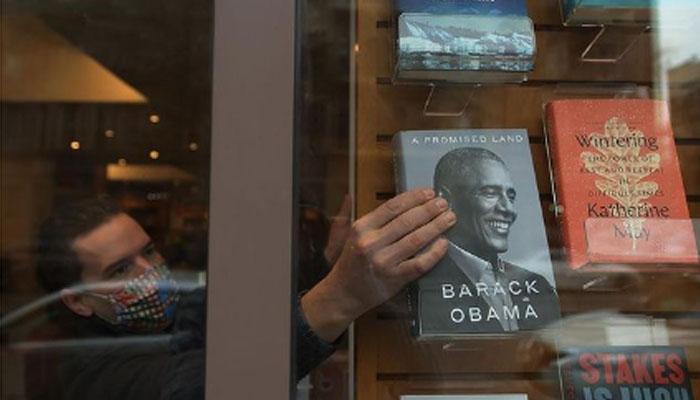 براک اوباما کی کتاب سال ہی سب سے زیادہ فروخت ہونے والی کتابوں میں شامل