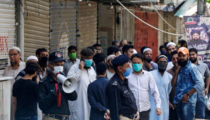 کراچی :تمام اضلاع میں اسمارٹ لاک ڈاؤن کے نفاذ کا فیصلہ