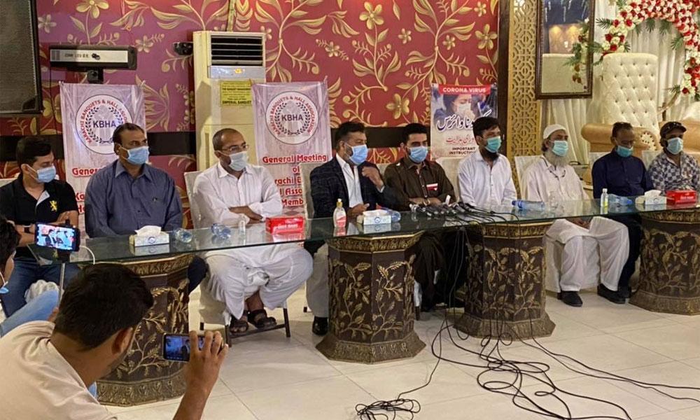کراچی میں RCC چھت والے شادی ہالز بند رہیں گے: صدر ایسوسی ایشن