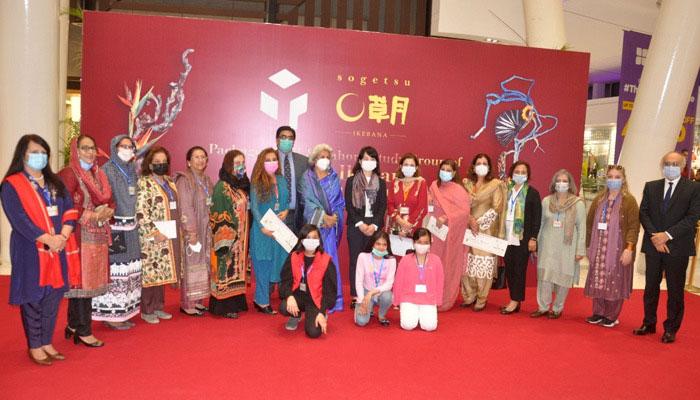لاہور اسٹڈی گروپ کے زیراہتمام تین روزہ نمائش کلر آف لائف کا انعقاد