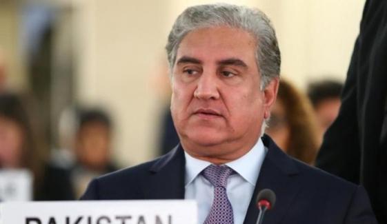 سی پیک کیخلاف بھارتی سازش ناکام ہوگی، شاہ محمود قریشی