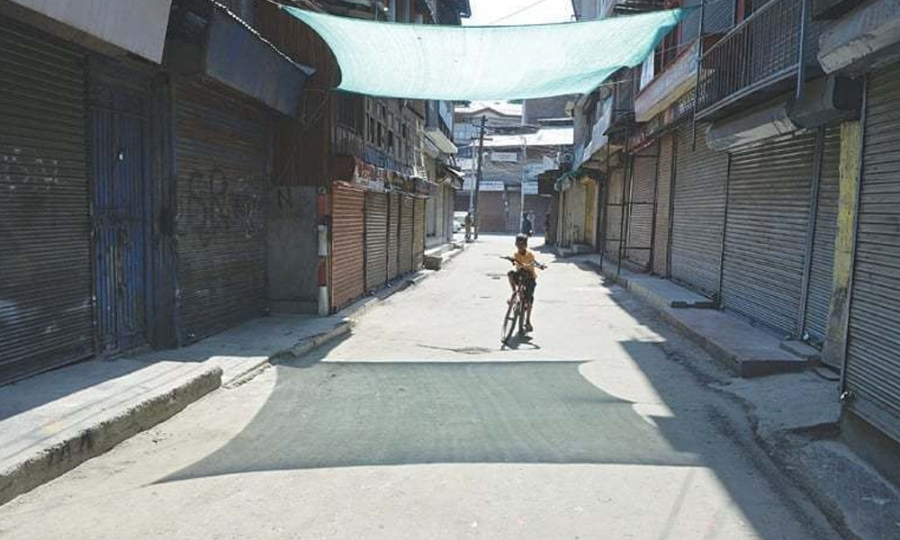 آزاد کشمیر، دو ہفتے کیلئے لاک ڈاؤن کا پہلادن