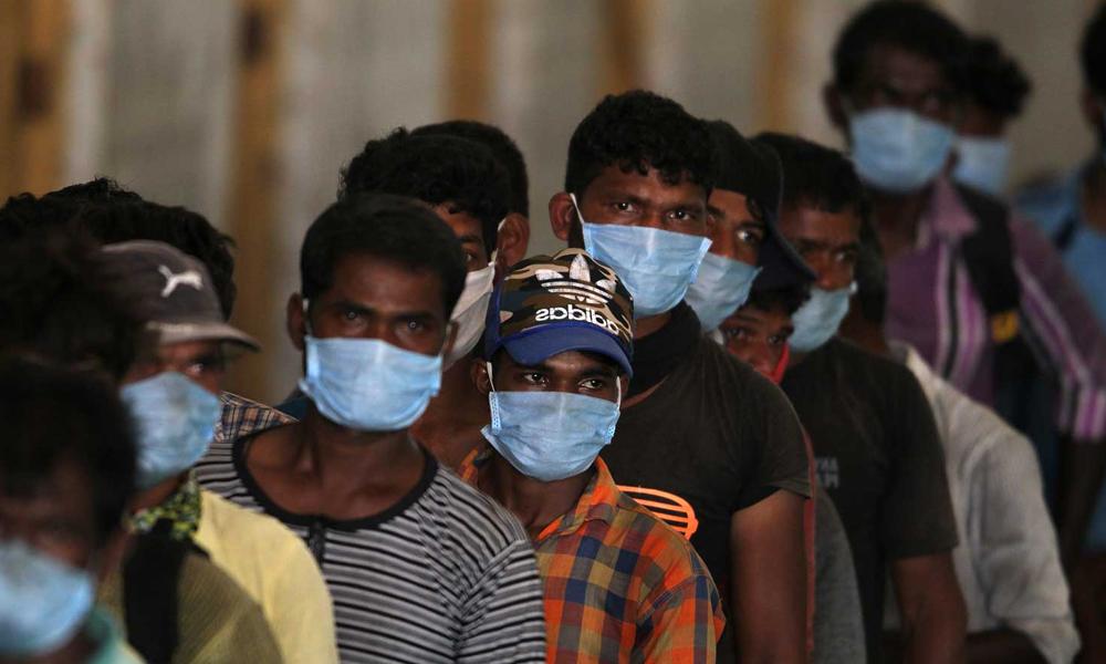 بھارت، کورونا وائرس کے نئے کیسز میں اضافہ