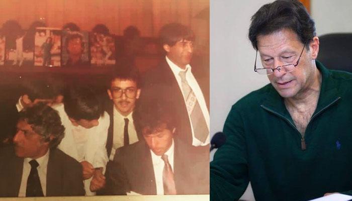 عمران خان کی 'اولڈ ٹائم فوٹوز' کی ایک اور یادگار