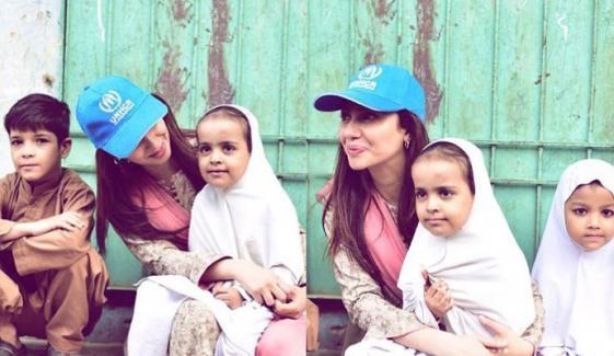 ماہرہ خان نے افغان مہاجرین کیلئے آواز بلند کردی