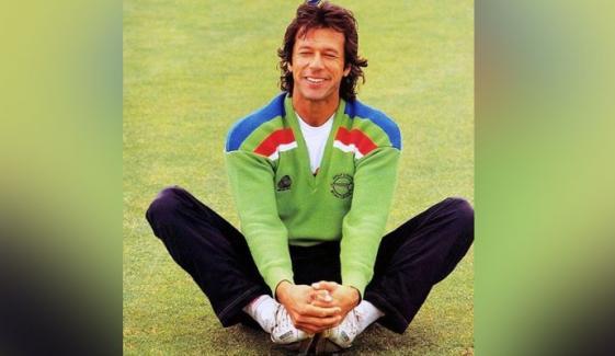 عمران خان نے 1992 کرکٹ ورلڈکپ کی یاد تازہ کردی