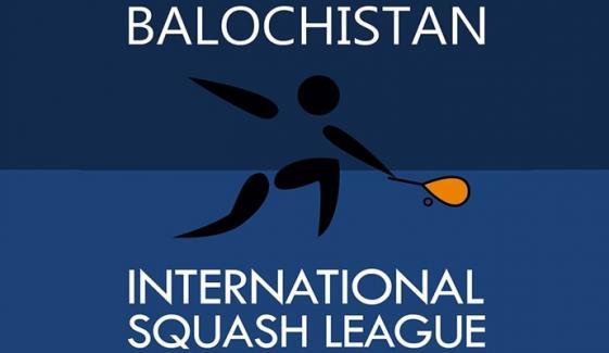 تیسری بلوچستان انٹرنیشنل اسکواش لیگ کا آغاز کل سے