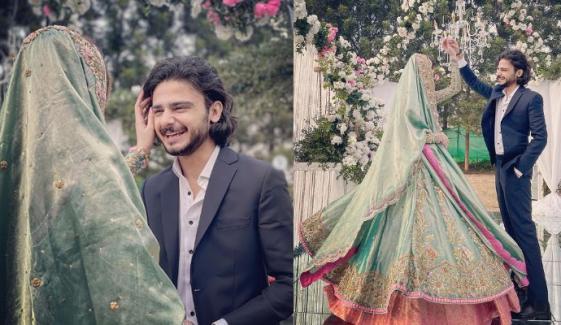 یوٹیوبر عمر خان نے شادی کرلی