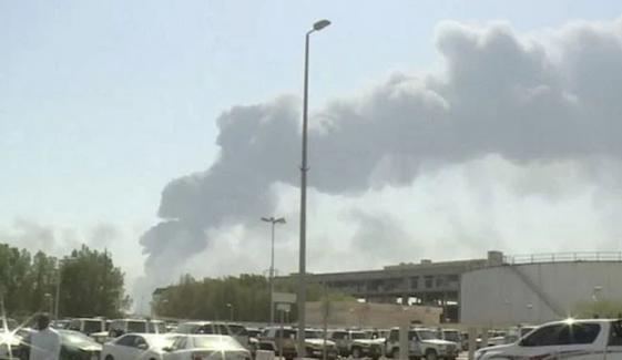جدہ میں آئل پلانٹ پر حوثیوں کا ڈرون حملہ