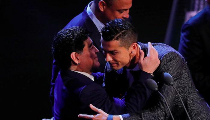 رونالڈو کا میراڈونا زبردست خراجِ تحسین
