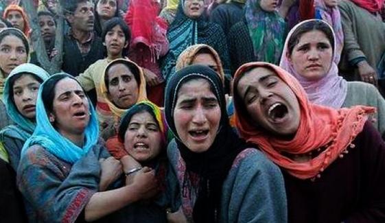 مقبوضہ کشمیر،31برسوں میں 11ہزارخواتین کی بےحرمتی کی گئی