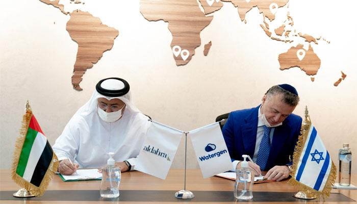 امارات اور اسرائیل کے درمیان تحفظ آب کے پارٹنرشپ معاہدے پر دستخط