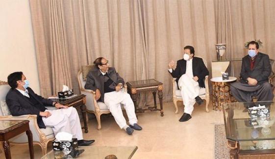 وزیراعظم عمران خان اور چوہدری برادران کی ملاقات کی اندرونی کہانی