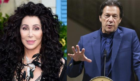 وزیراعظم عمران خان سے امریکی گلوکارہ چیر کی ملاقات، تعاون کی پیشکش