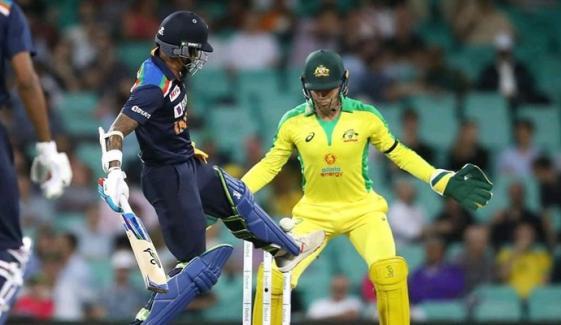پہلا ون ڈے: بھارت چاروں شانے چت، آسٹریلیا 66 رنز سے فاتح