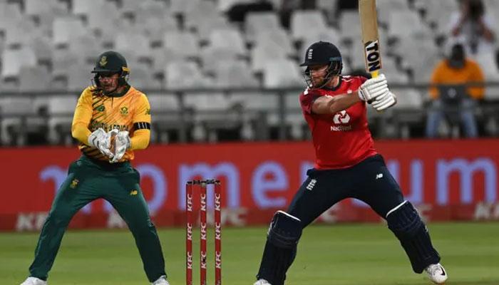 انگلینڈ نے جنوبی افریقا کو پہلا ٹی ٹوئنٹی میچ ہرا دیا