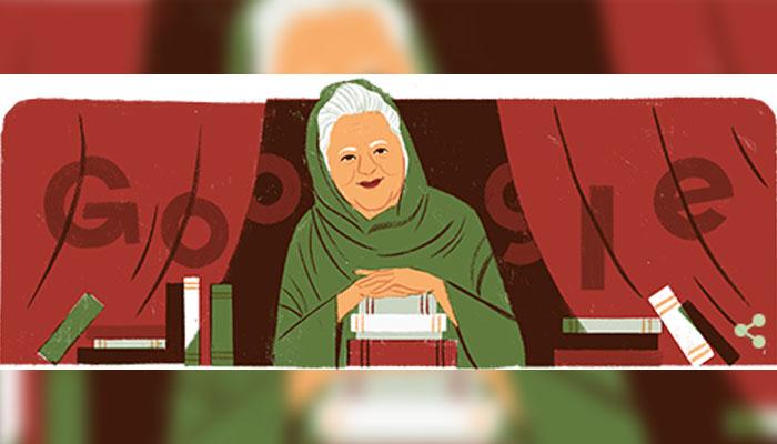 بانو قدسیہ کی سالگرہ پر گوگل کا خراج عقیدت