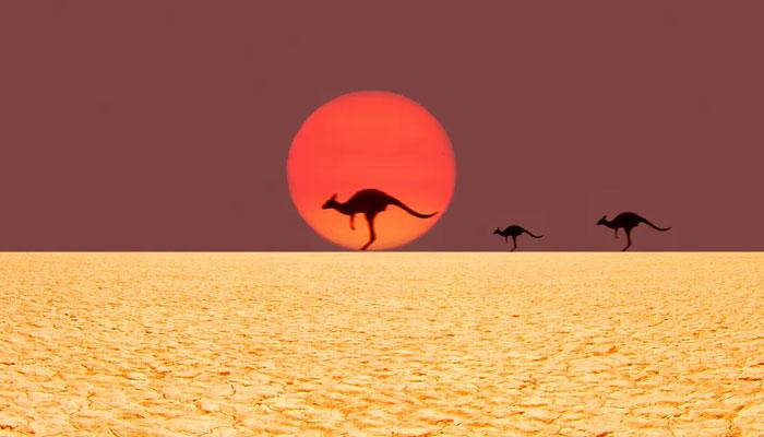 آسٹریلیا میں پہلی ہیٹ ویو، درجہ حرارت 47 ڈگری تک پہنچ گیا