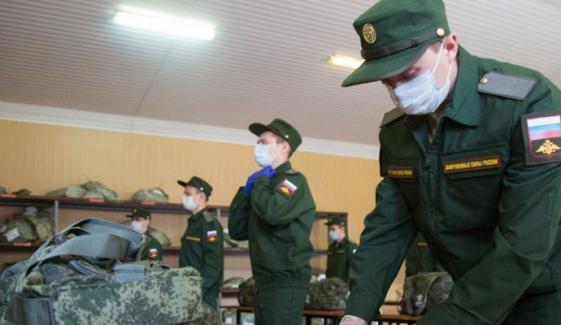 روس: فوجیوں کو ویکسین دینے کی مہم شروع