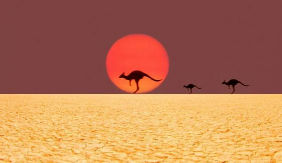 آسٹریلیا میں ہیٹ ویو، درجہ حرارت 47 ڈگری