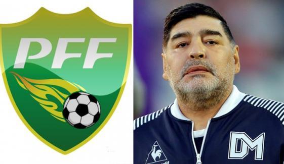 میراڈونا اور پاکستانی فٹبالر کو ٹریبیوٹ دینے کا فیصلہ