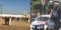ملتان:  PDM کارکن پولیس حصار توڑ کر قلعہ کہنہ قاسم میں داخل