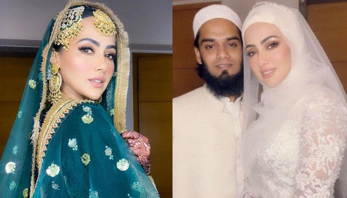 ثناء خان کی دلکش تصویروں پر شوہر کا اظہار محبت